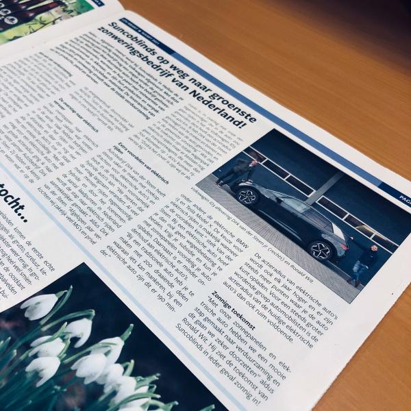 Dirk van der Steen in LOV-krant maart