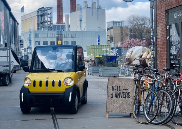 CityCar brommobielen van MOVE